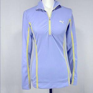 Puma Dry Cell Running Pullover Quarter Zip size S